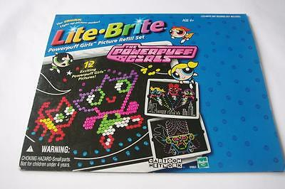 Powerpuff Girls Lite Brite Picture Pages Refill Set 11 Pages Total - Missing 1