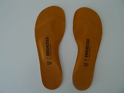 BIRKENSTOCK FOOTBED INSOLES 43/M10L12 New! 1001258 Birko-Tex