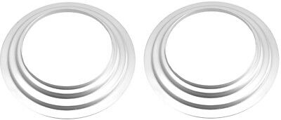 "2 X O6 6"" Aluminum Mounting Flange / Adapter Ring for Hensel EHT Flash / Strobe"
