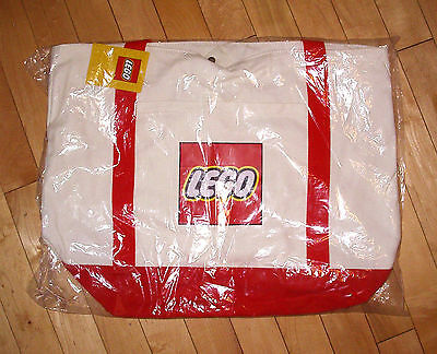 LEGO Canvas Tote Bag - New & Sealed Promotional 5005326