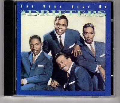 (HJ387) The Very Best of, The Drifters - 1993 CD