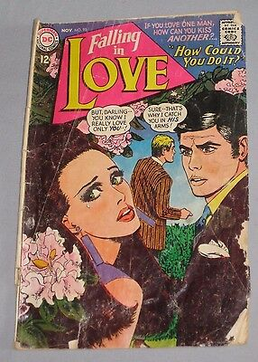 Falling in Love #95 DC Comics Romance 1967, Silver Age - Bagged & Boarded
