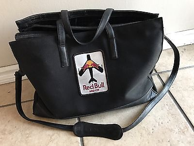 Tumi Bag 43009D3 With 2 Red Bull MIG-17F Patches