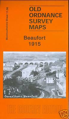Old Ordnance Survey Map Beaufort 1915