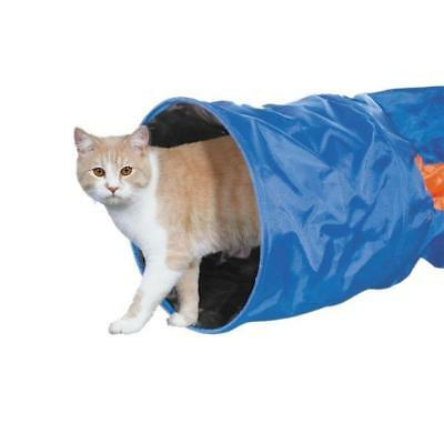 NOBBY Tunnel pour chat nylon crunch 115 x 30 cm