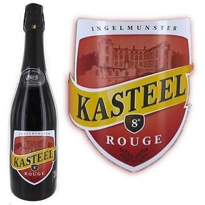 Kasteel rouge 8degres 75cl