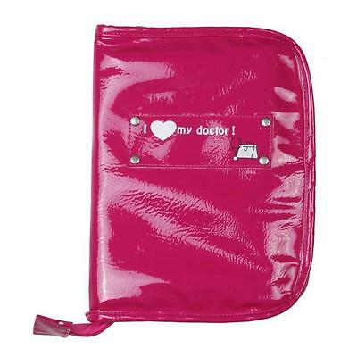 BABY ON BOARD Protege Carnet de santé Gloss Rose