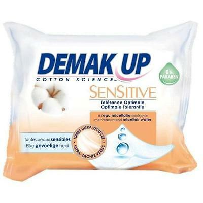 DEMAK UP Sensitive Lingettes Démaquillantes - x23