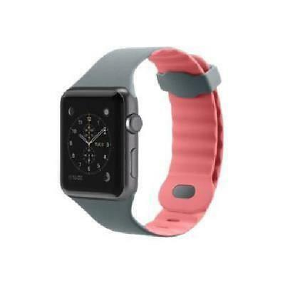 BELKIN Sport Bracelet de montre - Apple Watch -38 mm- - Rose gris
