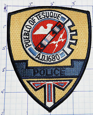 New Mexico, Tesuque Police Dept Tan Patch