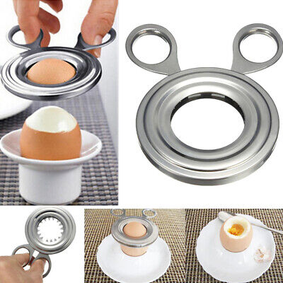 10x6.5CM Ciseaux Oeuf Shell Cutter Coupe Slicer Acier inoxydable Cuisine Outil