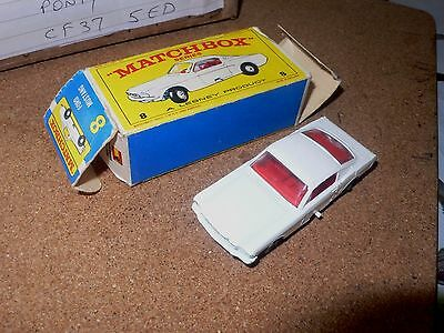 Matchbox No8 Ford Mustang - Mint Boxed