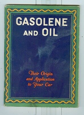 1930 Cities Service Gas and Oil Advertising Booklet
