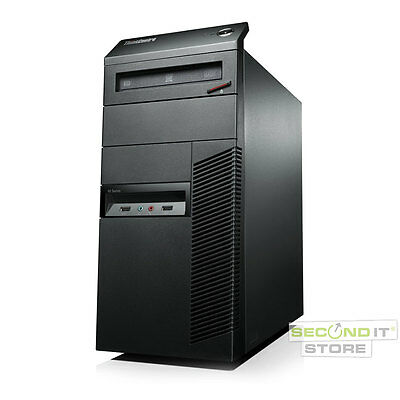 Lenovo ThinkCentre M82 PC Quad Core i5 4x 3,3 GHz 4 GB RAM 500 GB HDD Win 10