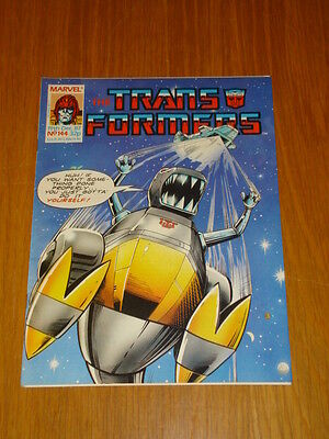 Transformers British Weekly #144 Marvel Uk Comic 1987