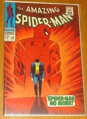 Amazing Spiderman #50 Vf (8.0) July 1967 1St App Kingpin Marvel Comics*