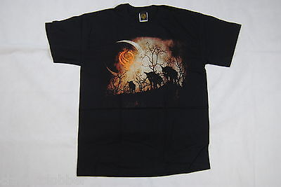Opeth Wolves T Shirt New Official Blackwater Park Heritage Watershed Orchid Rare