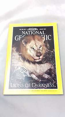the national geographic magazine volume 186 no 2 august 1994, editor | Single Is
