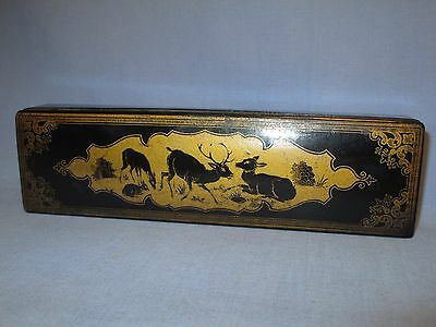 Japanese Papiermache Chopstick / Brush / or Pencil Box /     JE 119
