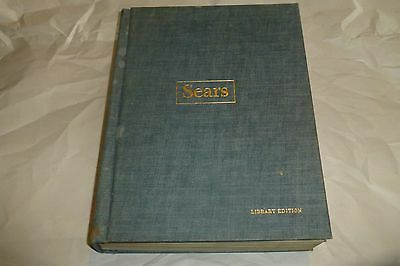 Sears Fall Winter 1966 rare hardcover catalog/library edition/photos/clothes +