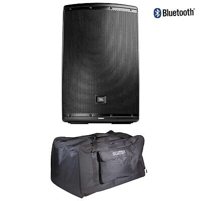 """JBL Pro EON615 Two-Way 15"""" Active Sound Reinforcement Speaker with Cover"""