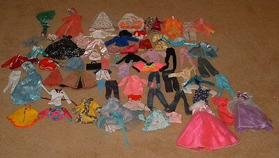 Lot of Barbie Clothing Clothes - 66 items in total - 10 items with tags