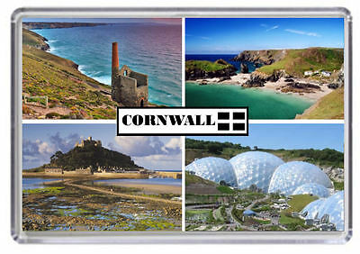 Cornwall England Fridge Magnet