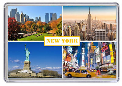 New York City USA Fridge Magnet 04