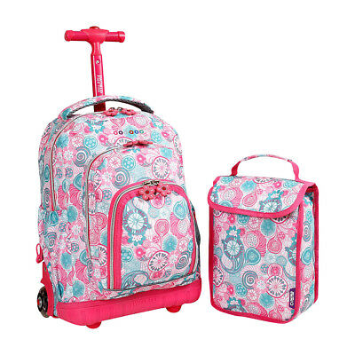 J World New York Lollipop Kids Rolling Backpack with