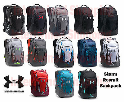 """Under Armour 1261825 UA Storm Recruit Molle School Backpack 15"""" laptop All Color"""