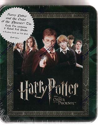 Harry Potter Order of the Phoenix Hermione Ron Artbox Movie Card SEALED TIN