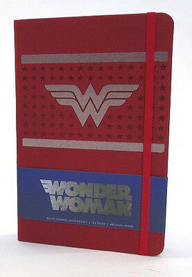 Wonder Woman Hardcover Ruled Journal, 192 Pages, Archival paper