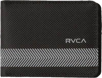 RVCA Selector Ballistic Wallet - Black - New