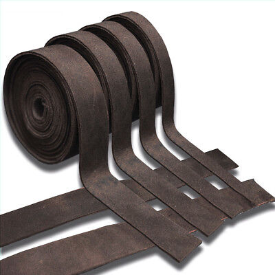 5-6oz OIL TANNED BROWN LEATHER STRAP STRIP HIDE MEDIUM WEIGHT