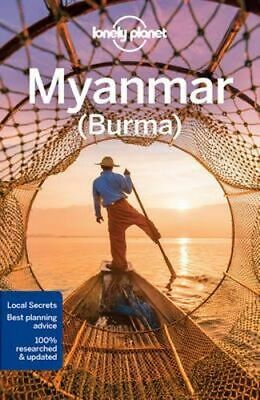 NEW Myanmar (Burma) By Lonely Planet Travel Guide Paperback Free Shipping