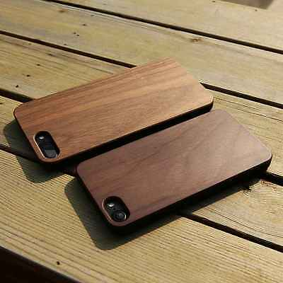 Wooden Bamboo Protective Phone Case for iPhone Xs X 8 Plus Samsung S8 Plus S7 S6
