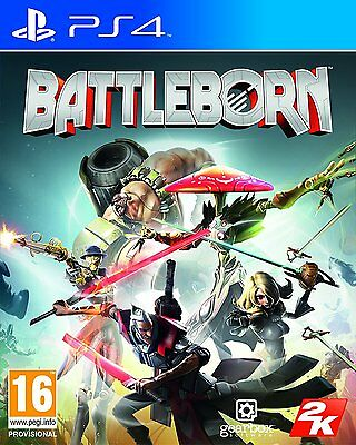 BattleBorn for PlayStation 4 PS4 Multiplayer Shooter NEW READY TO DISPATCH