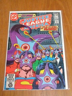 Justice League Of America #190 Dc Comics May 1981