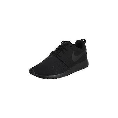 huge selection of c9d47 52e03 NIKE ROSHE RUN All Black Womens 844994-001 - Size 8.5
