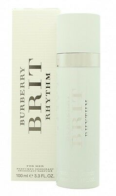 Burberry Brit Rhythm For Women Deodorant - Women's For Her. New. Free Shipping