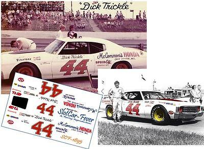 CD_1895 #44 Dick Trickle   Chevelle   1:25 scale decals    ~NEW~