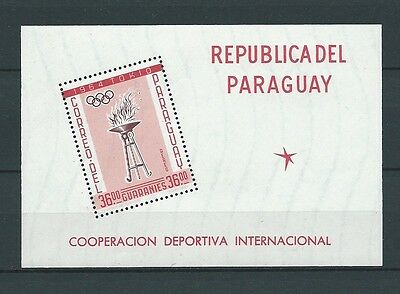 Latin America - Paraguay - 1962 Mi 1110 / Bloc 28 -  Timbres Neufs** Mnh Luxe