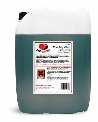 Hog Red Snow Foam 10 Litre Non Caustic Excellent Deep Cleaning -Free Postage