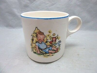 Little Boy Blue child's Nursery Rhyme cup