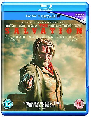 THE SALVATION (2014) Mads Mikkelsen Blu-Ray BRAND NEW Free Ship USA COMPATIBLE