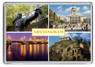 Nottingham Fridge Magnet 01