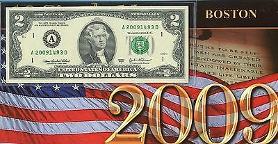 (10) Series 2003 A Federal Reserve $2 Note District Set JE398