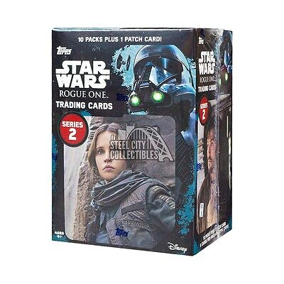 2017 Topps Star Wars Rogue One Series 2 10ct Blaster Box
