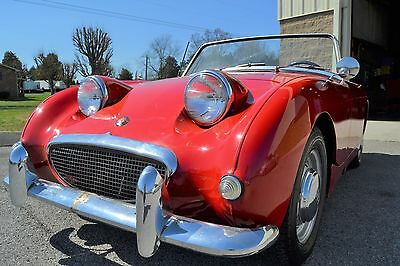 1961 Austin Healey Sprite  1961 Austin Healey Sprite Bugeye Frogeye Weekend Driver Good Condition see Desc.