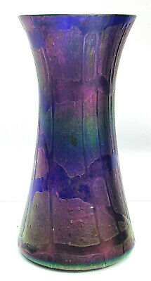"Beautiful Art Nouveau Era Genuine Loetz Iridescent Glass 5 1/4"" Vase"
